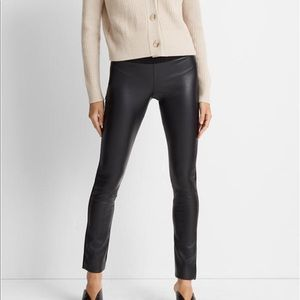 Club Monaco Tasha Faux Leather Leggings Pants